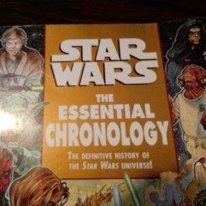 Star Wars Essential Chronology / History Book
